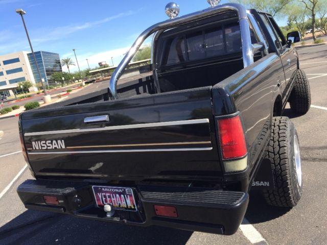 1985 nissan datsun 720 4x4 4wd st model truck pickup for. Black Bedroom Furniture Sets. Home Design Ideas