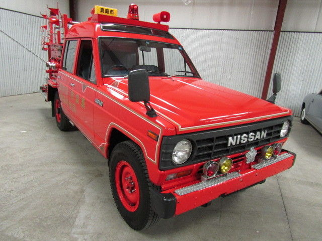 1985 Nissan Safari 7,104 Miles Duncan Imports and Classic Cars for ...