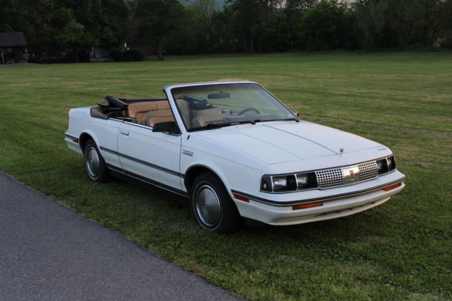 1985 Oldsmobile Cutlass Ciera Brougham Convertible Coupe