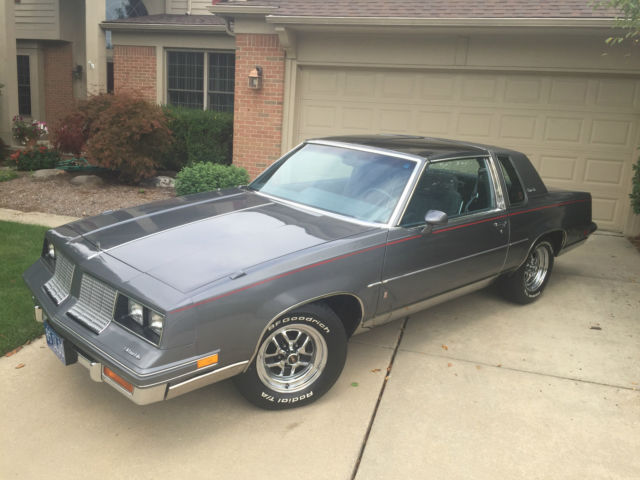 1985 oldsmobile cutlass salon 30k miles v8 t tops like for 1985 cutlass salon for sale