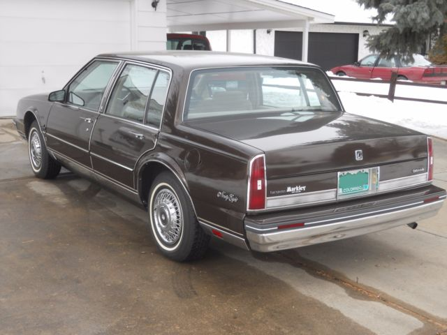 Used Cars Fort Collins >> 1985 Oldsmobile Ninety-Eight 98 Regency Brougham ***No Reserve*** for sale: photos, technical ...