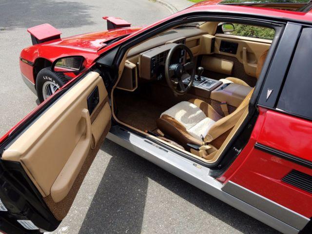 1985 Pontiac Fiero Gt 4 Speed 40 700 Original Miles Rare Interior No Reserve For Sale