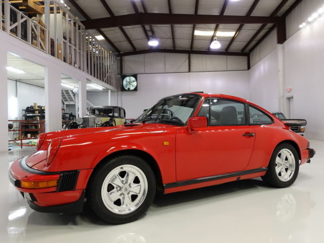 1985 Porsche 911 Carrera Coupe,  RARE EUROPEAN EDITION! STUNNING!