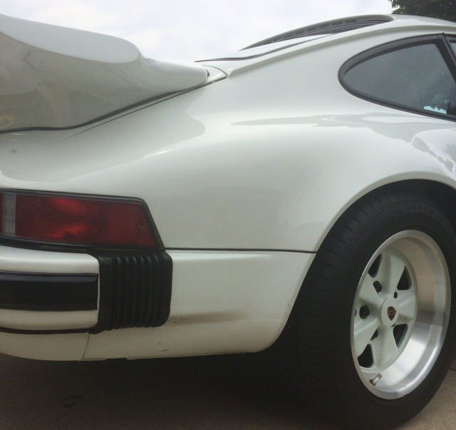 1985 Grand Prix White Porsche 911 Carrera Coupe with Burgundy  interior