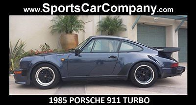 1985 Porsche 930 TURBO COUPE
