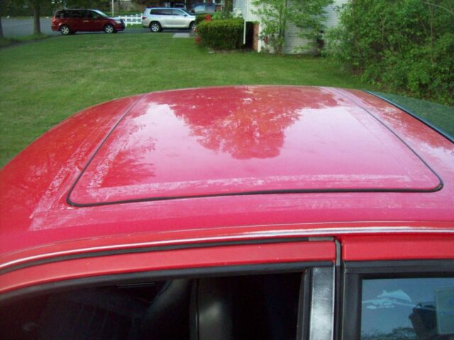 1985 Red Porsche 944 Coupe with Black interior