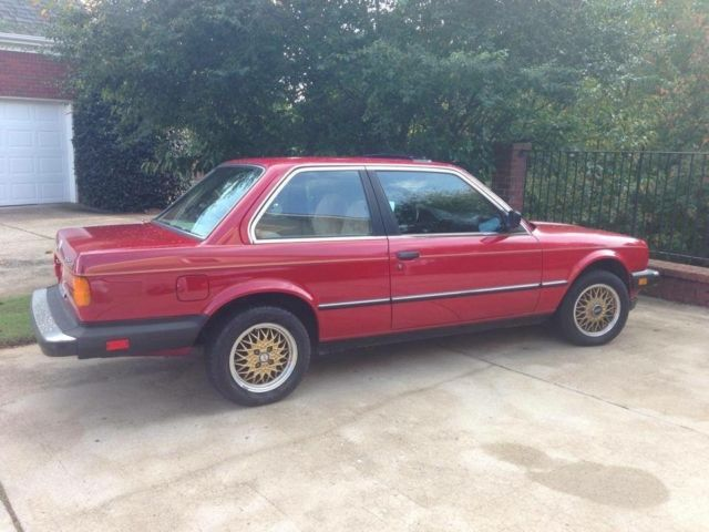United Bmw Roswell >> 1985 Red BMW 325e Two door with Gold BBS Wheels for sale: photos, technical specifications ...