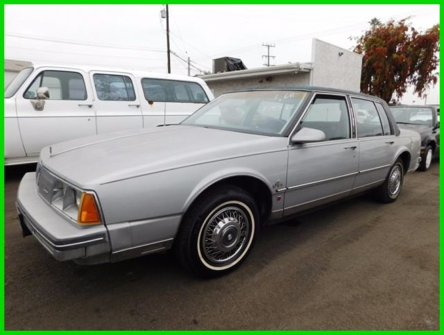 1985 Oldsmobile Ninety-Eight Regency Brougham