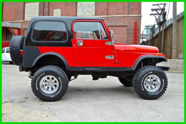 1985 Jeep CJ Renegade
