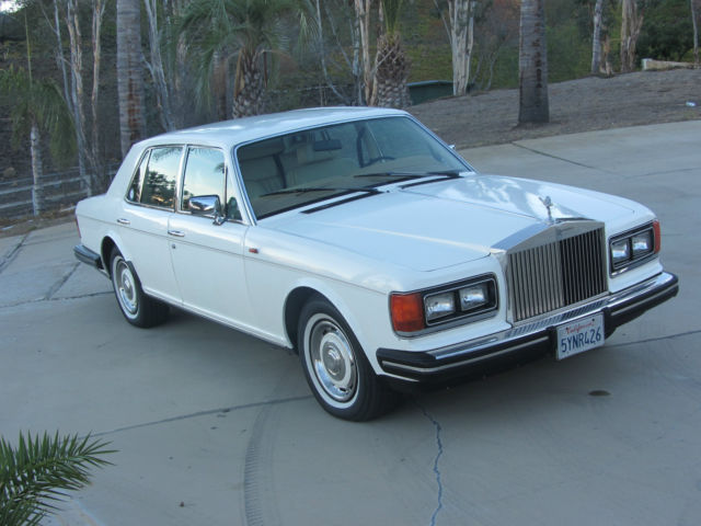 1985 Rolls-Royce Silver Spirit/Spur/Dawn Silver Spirit long wheel base