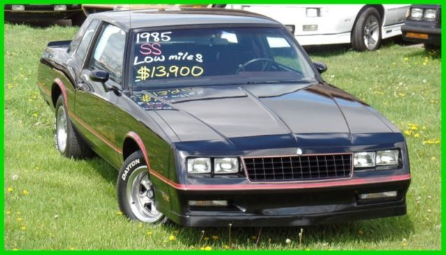 1985 Chevrolet Monte Carlo SS-ALL ORIGINAL WITH 57,000 MILES