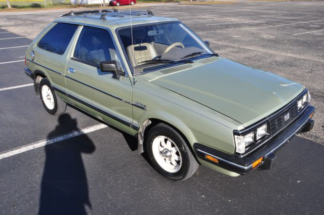 1985 subaru gl wagon weight