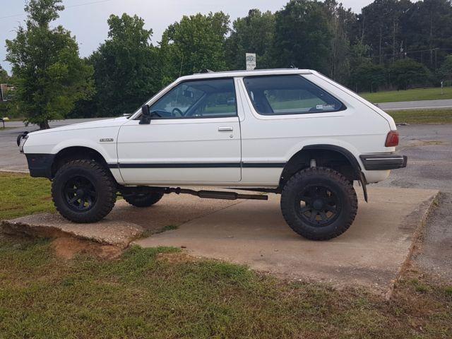 1985 Subaru Gl Hatchback 4 Wheel Drive Lift Kit 55 992 Original Miles