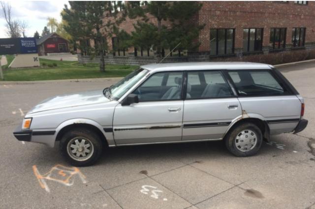 1985 Subaru Gl Wagon For Sale  Photos  Technical Specifications  Description