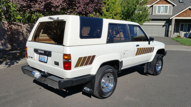1985 toyota 4runner sr5 original family owned amazing condition for sale photos technical. Black Bedroom Furniture Sets. Home Design Ideas