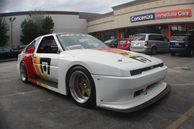 1985 toyota corolla gts ae86 motegi track race drift car widebody for sale photos technical. Black Bedroom Furniture Sets. Home Design Ideas