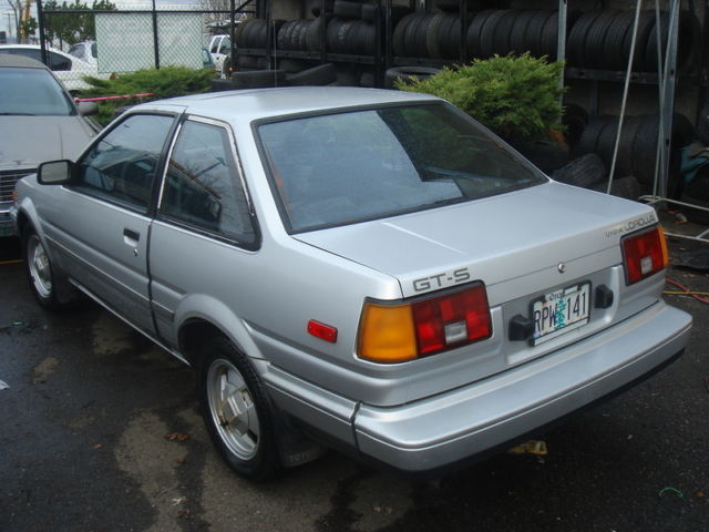 1985 toyota corolla sport gt s gts coupe 2 door 1 6l ae86 for sale photos technical. Black Bedroom Furniture Sets. Home Design Ideas