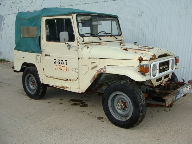 1985 Toyota Land Cruiser BJ40