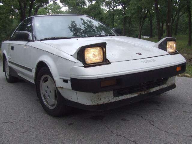 1985 Toyota MR2 GT