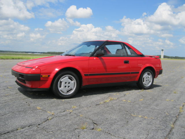 1985 Toyota MR2