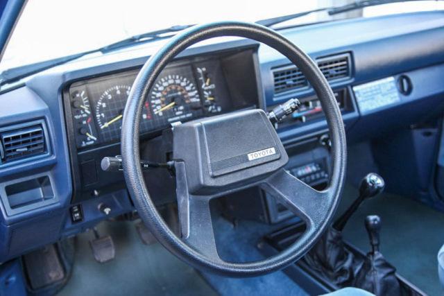 1985 toyota pickup xtracab sr5 4x4 5 speed 30 565 mi 1 owner original survivor for sale for 1985 toyota pickup interior parts