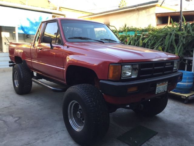 1985 Toyota Truck 4x4 Sr5 Efi One Owner For Sale Photos