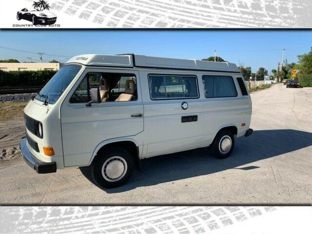 1985 Volkswagen Vanagon Campmobile 67000 Miles White 2 0l