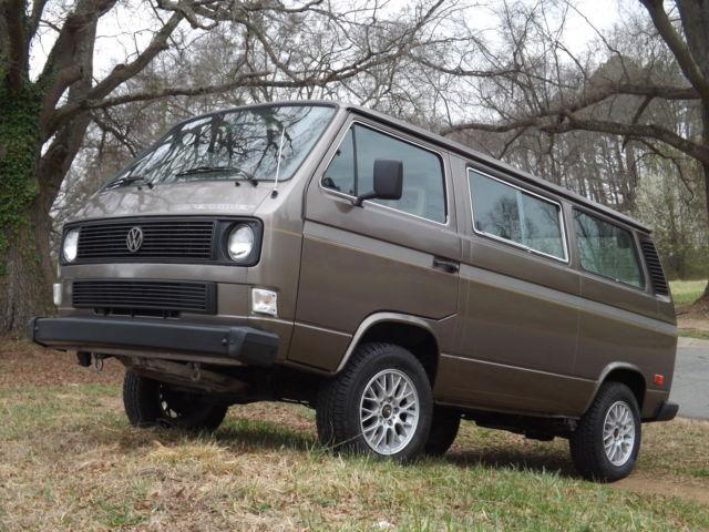 1985 Volkswagen Vanagon Subaru Swap Custom Interior