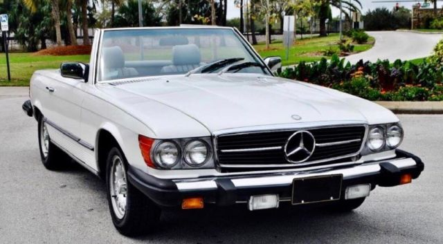 1985 Mercedes-Benz SL-Class Convertible and hardtop