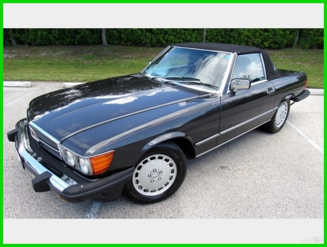 1986 Mercedes-Benz 500-Series 560 SL