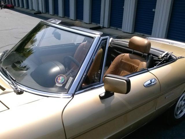 Alfa Romeo Spider Veloce Convertible Door L For Sale - 1986 alfa romeo spider for sale