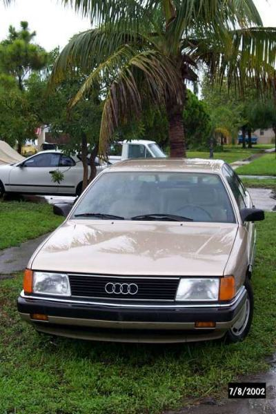 1986 Audi 5000S sedan, beige leather automatic