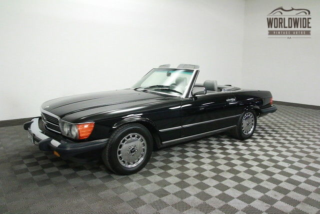 1986 Mercedes-Benz SL-Class 1 OWNER. BOTH TOPS! LOW MILES!
