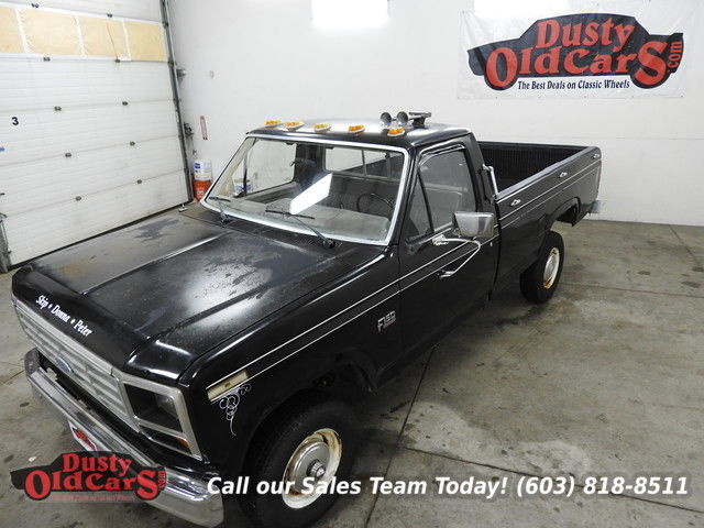 1986 Ford F-150 Runs Drives 4X4 I6 Great Work Truck