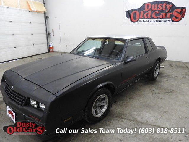 1986 Chevrolet Monte Carlo Runs Drives Body Inter Good 305V8 4 Spd Auto