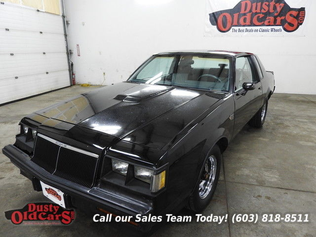 1986 Buick Grand National Runs Drives Body Interior VGood 3.8L Turbo Auto