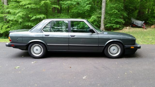 1986 bmw 535i e28 good condition reliable daily driver. Black Bedroom Furniture Sets. Home Design Ideas
