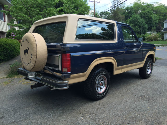 1986 Ford Bronco Eddie Bauer  63K ACTUAL MILES 5.0EFI  SURVIVOR!