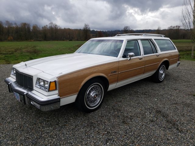 1986 Buick Electra Estate Wagon