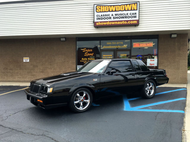 1986 Buick Grand National 42K CAR /W OVER THE TOP RESTORATION