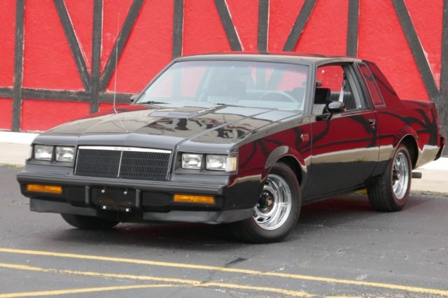 1986 Buick Regal Grand National Turbo 1987-ONE OWNER