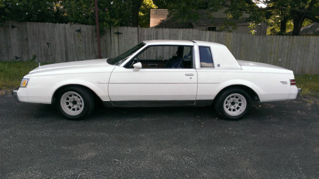 1986 Buick Regal Limited Coupe 2 Door 3 8l T Type Grand