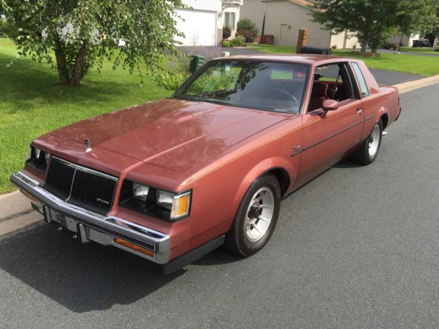 Buick Regal T Type >> 1986 Buick Regal T Type 39 663 Miles Original Rare Rosewood