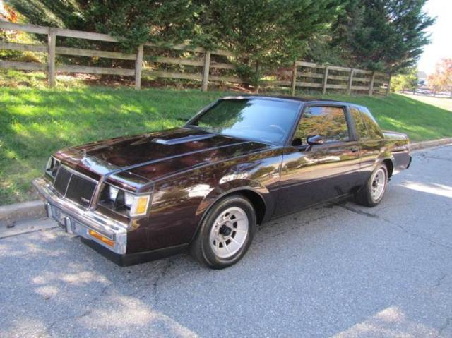 1986 Buick Regal T Type Turbo Coupe 2-Door Automatic 4-Speed