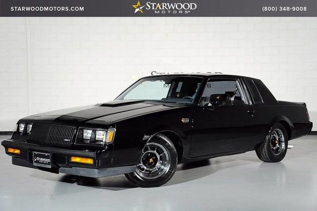 1986 Buick Grand National T-Type Grand National