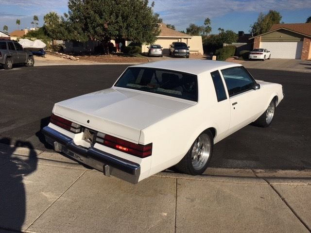 1986 Buick Regal T-Type Coupe 2-Door