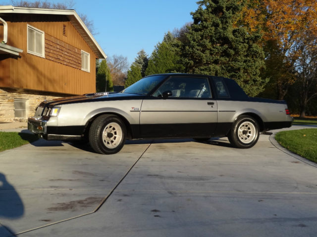 1986 buick turbo regal t type wh1 designer series documented grand national gnx for sale photos. Black Bedroom Furniture Sets. Home Design Ideas