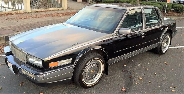 1986 Cadillac Seville Elegante Sedan 4 Door 4 1l For Sale Photos