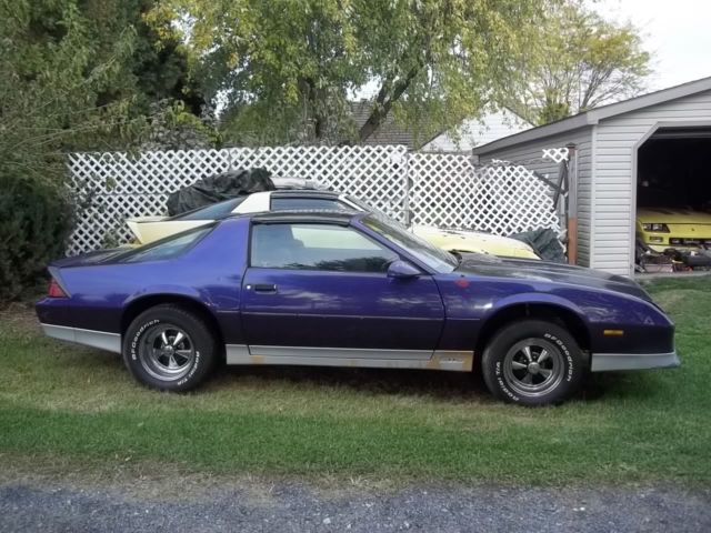 1986 camaro z28 ttop no rust perfect for drag car hot rod. Black Bedroom Furniture Sets. Home Design Ideas
