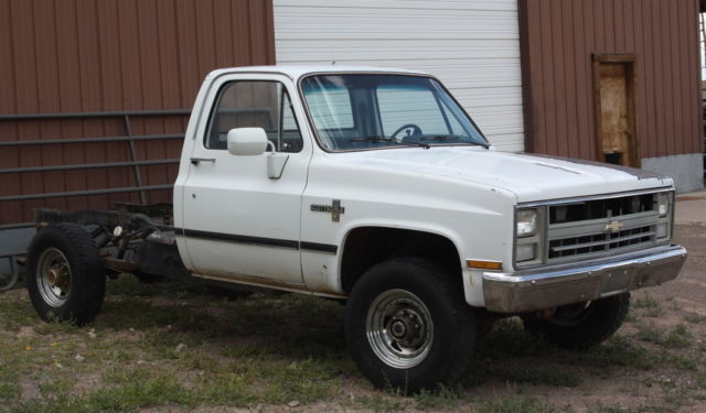 1986 Chevrolet C/K Pickup 2500 Scottsdale